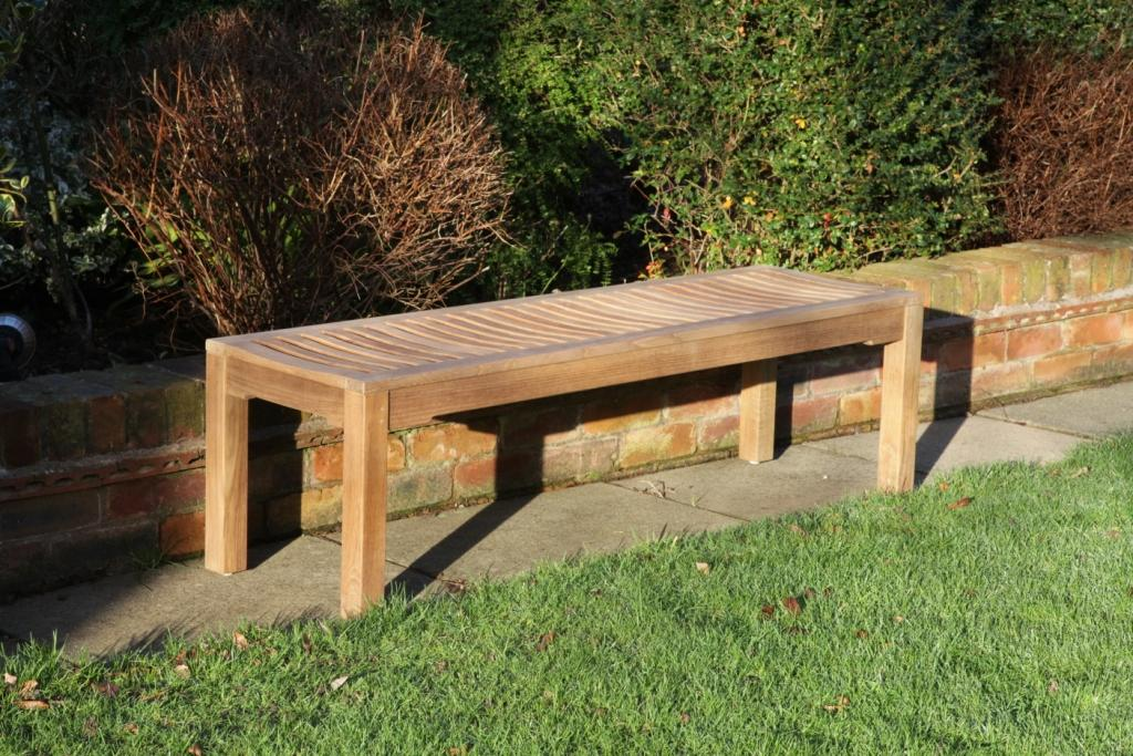 Teak Backless Bench 1.8m | Woodberry