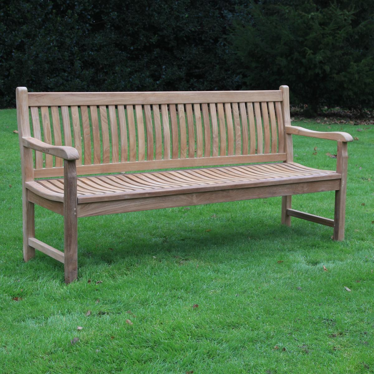 Teak Charlbury Bench 1 8m Woodberry