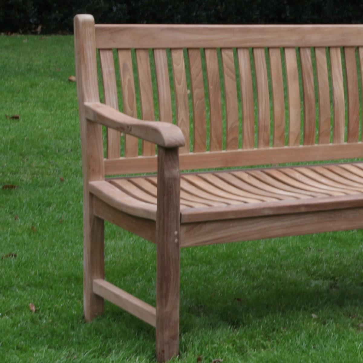 Teak Charlbury Bench 1 5m Woodberry