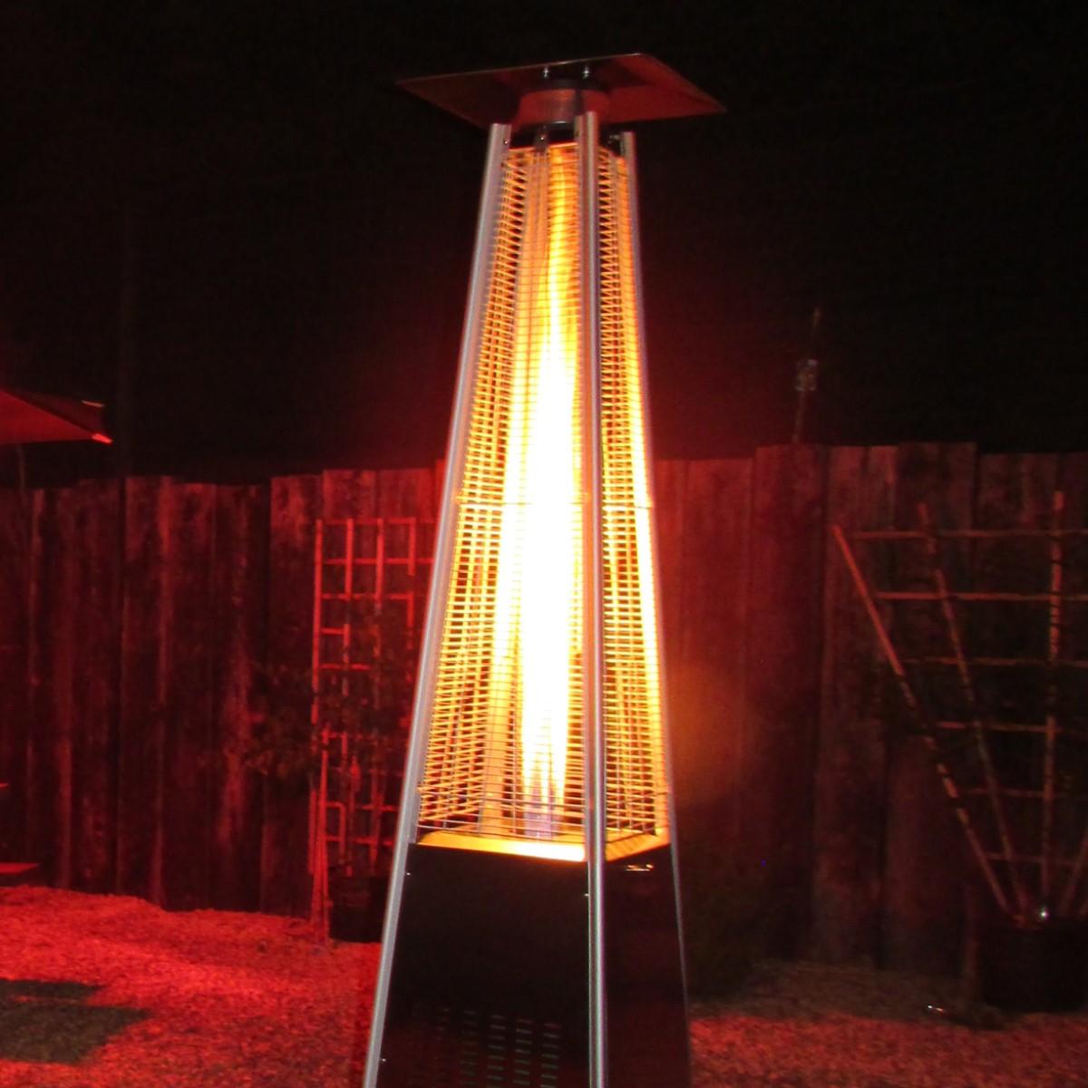 Pyramid Gas Patio Heater Woodberry