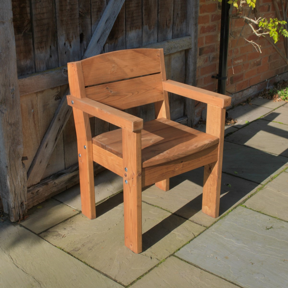 Pine Softwood Armchair Woodberry