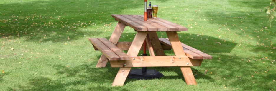 A-Frame Picnic Tables