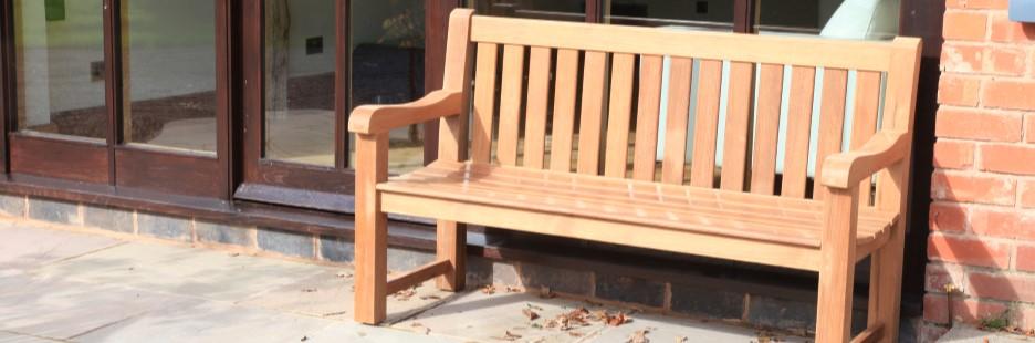 Teak benches