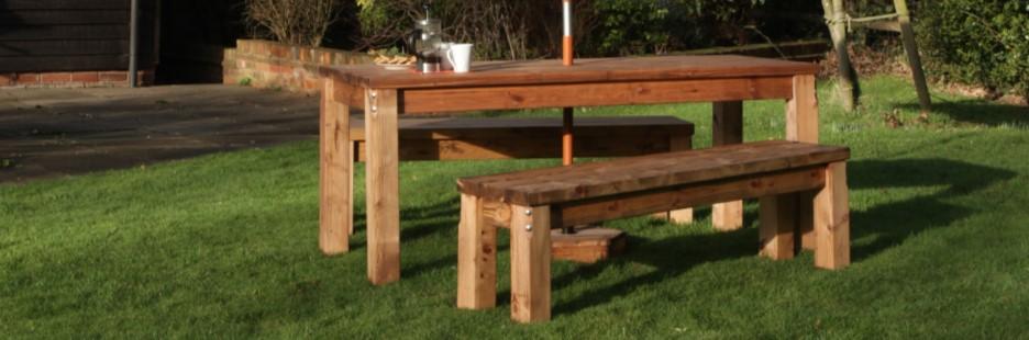 Wooden Furniture for Hotel Gardens