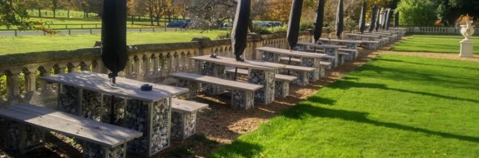 Gabion Furniture for Hotels