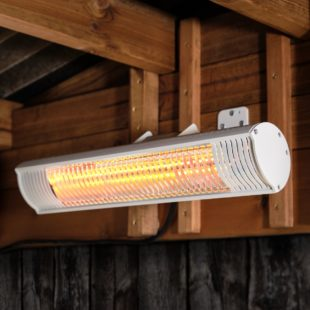 Commercial 2kw electric wall mounted patio heater