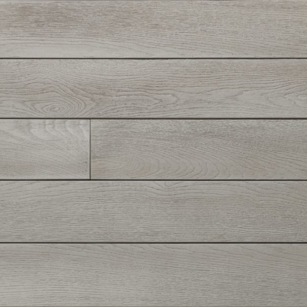A sample colour square of Smoked Oak Millboard deck panels