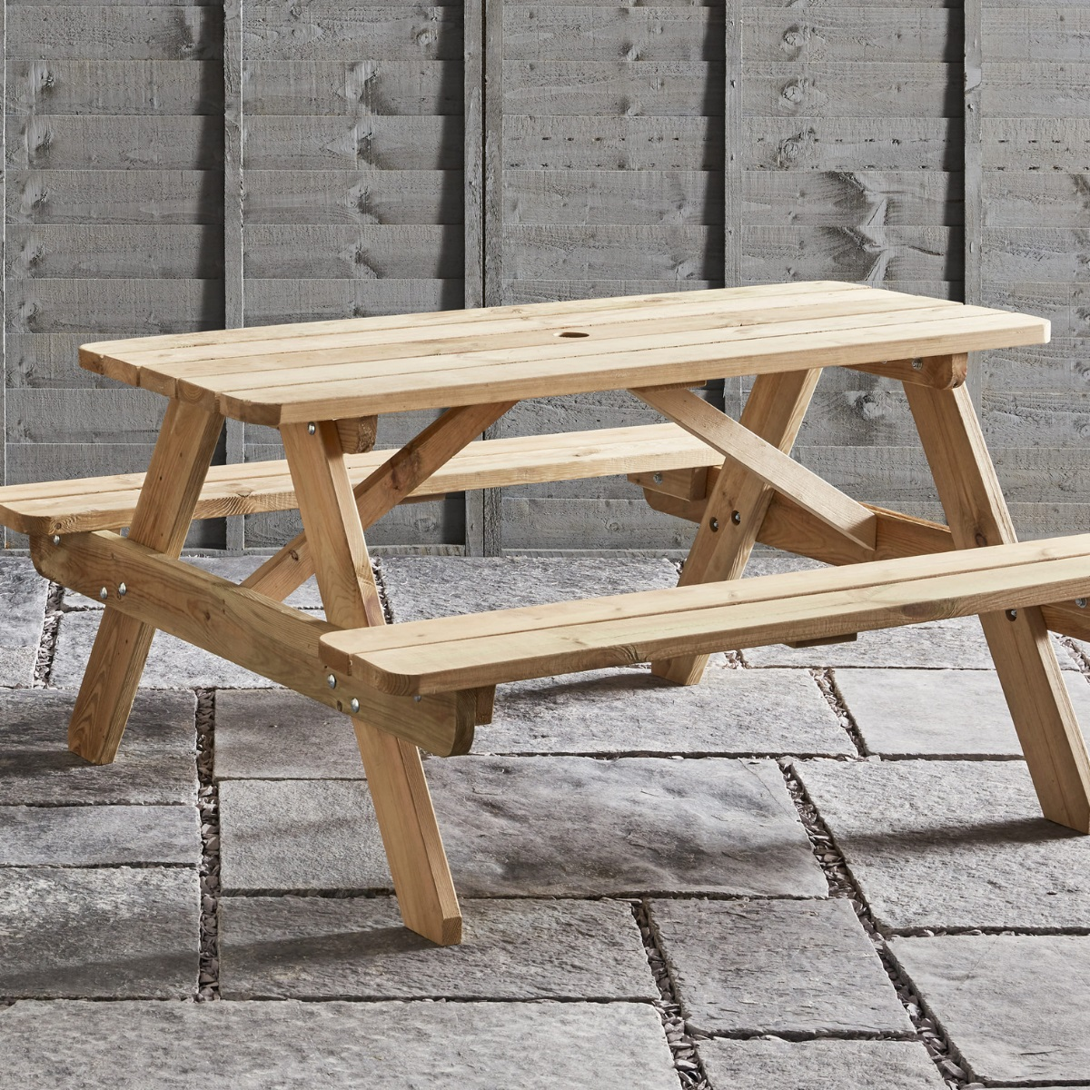commercial wooden a frame picnic table