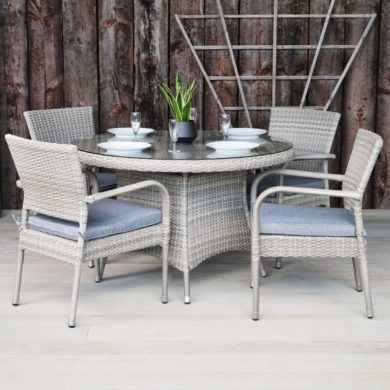 Rattan Outdoor Dining Tables & Chairs