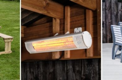 commercial outdoor furniture and patio heaters